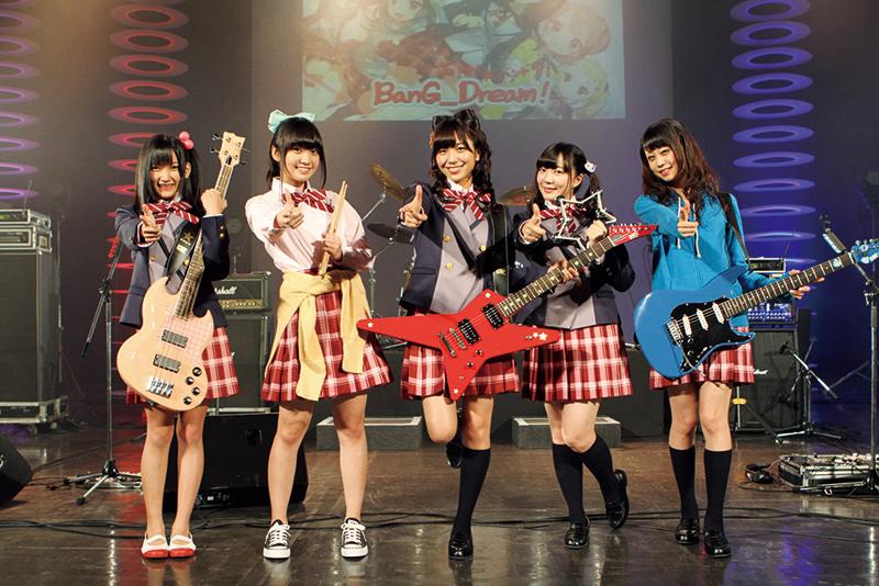 「BanG_Dream! 4th LIVE『ようこそ!ぽっぴん☆PARTY!!!!!』」の様子。