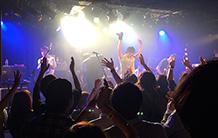 """ビートラム初日夜に開催される""""中夜祭""""イベント「よふかしビートラム」の会場となるライブハウス。「よふかしビートラム」の出演者は詳細はWebサイトで確認を。"""