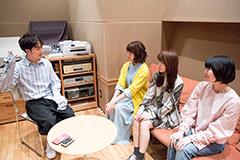 左からヒャダイン、Kaede、Nao☆、Megu。