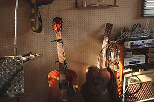 Studio BYRD内の様子。
