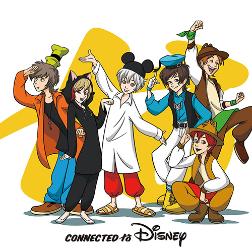 V.A.「Connected to Disney」通常盤