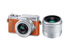 Panasonic「LUMIX DC-GF10/GF90」(ボディカラー:オレンジ×シルバー)
