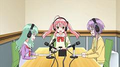 イアニメ「それが声優!」のワンシーン。(c)あさのますみ・畑健二郎 / イヤホンズ応援団