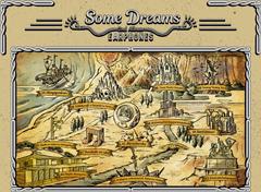 2ndアルバム「Some Dreams」の世界観をイメージした地図。
