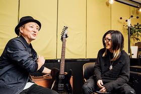 左から松隈ケンタ、HISASHI。