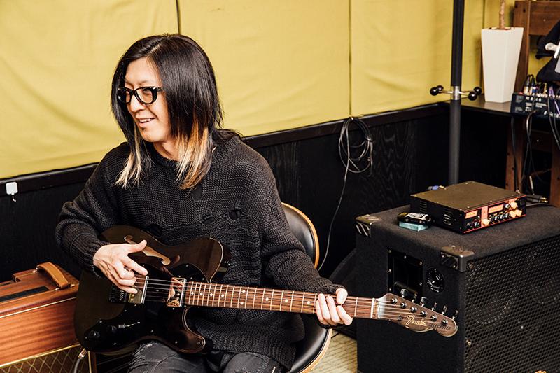 bish fenderギター