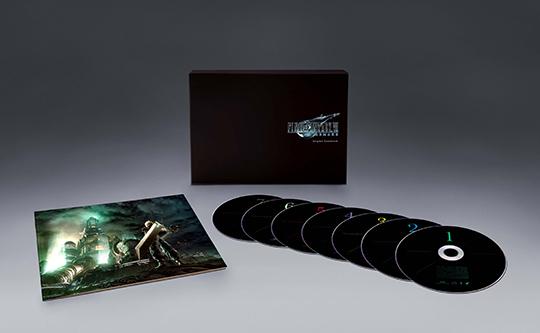 V.A.「FINAL FANTASY VII REMAKE Original Soundtrack」展開図