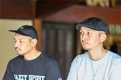左からDJ Mitsu the Beats、DJ Mu-R。