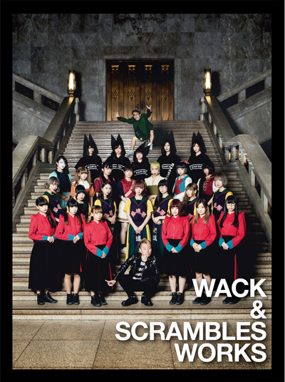 V.A.「WACK & SCRAMBLES WORKS」CD+DVD盤
