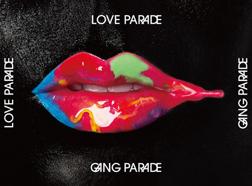 GANG PARADE「LOVE PARADE」初回限定盤