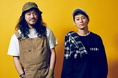 左から茂木洋晃(G-FREAK FACTORY)、TAKUYA∞(UVERworld)。