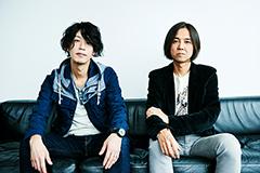 左から田中和将(Vo, G)、高野寛。