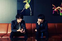 左から田中和将、斎藤宏介。