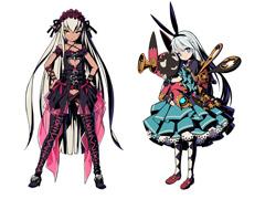左からリリン、アリス。