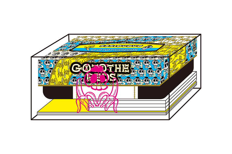 GO TO THE BEDS / PARADISES「GO TO THE BEDS & PARADISES -LUXURY TISSUE BOX-」