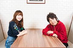 左から花澤香菜、佐橋佳幸。