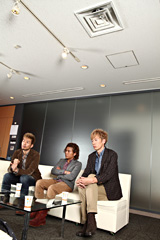 写真左からKURO、MICRO、U-ICHI