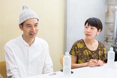 左から佐藤良成、佐野遊穂。
