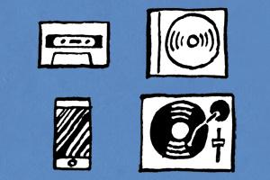 音楽メディアとリスニングスタイルの変遷