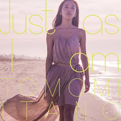 板野友美10thシングル「Just as I am」通常盤