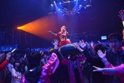 仮面女子単独ライブの様子。