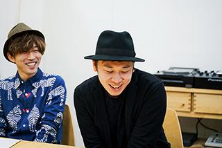 左から伊藤翔磨、鈴木伸宏。