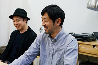 左から鈴木伸宏、濱津隆之。
