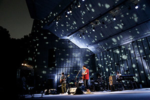 2015年8月に行われた東京・日比谷野外大音楽堂公演の様子。