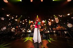「桐嶋ノドカSPECIAL LIVE @ 六本木ニコファーレ」の様子。