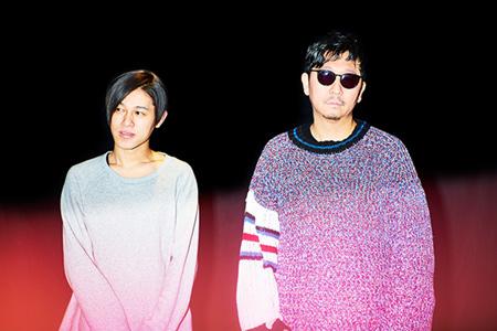 左からDÉ DÉ MOUSE、☆Taku Takahashi。