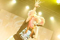 3月17日 香港 九龍湾・E-MAX Music Zone公演の様子(撮影:石井亜希)
