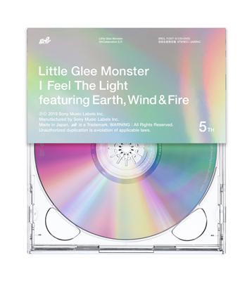 Little Glee Monster「I Feel The Light」初回限定盤