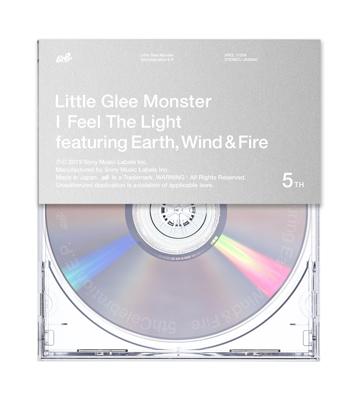 Little Glee Monster「I Feel The Light」通常盤