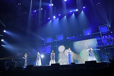 「Little Glee Monster 5th Celebration Tour 2019 ~MONSTER GROOVE PARTY~」東京・国立代々木競技場第一体育館公演の様子。(Photo by Yusuke Sato)