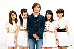 左から大庭彩歌、志良ふう子、SHiNTA、桜愛美、天野なつ。