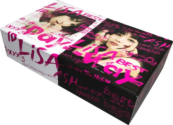 LiSA「LiSA BEST -Day- & LiSA BEST -Way-」完全生産限定盤