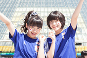 #5 大賀咲希&倉島颯良 2014 FIFA ワールドカップ ブラジル パブリックビューイング「コートジボワールvs日本」