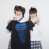 「『BABYMETAL WORLD TOUR 2014』ロンドン公演 ライブ・ビューイング」より野津友那乃、田口華。