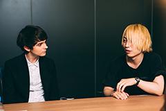 左からマデオン、中田ヤスタカ(CAPSULE)。