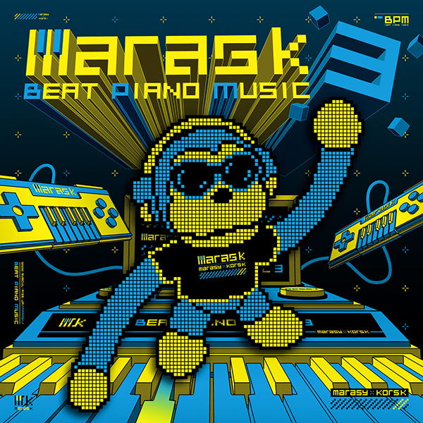 maras k「Beat Piano Music3」