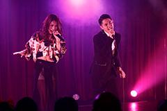 左からMeik、Shingo(APOTHEKE)。(Photo by Hiroyuki Ueno)