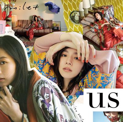 milet「us」初回限定盤