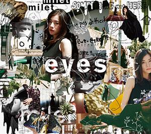 milet「eyes」初回限定盤A