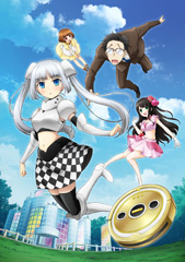 テレビアニメ「ミス・モノクローム -The Animation-」キービジュアル