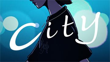 「City」ミュージックビデオのワンシーン。