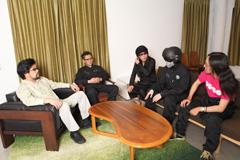 左から三柴理、三浦俊一(G / NESS)、内田雄一郎(B / NESS)、戸田宏武(Syn / NESS)、河塚篤史(Dr / NESS)