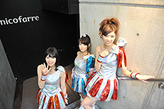 左から伊藤祐奈、外岡えりか、橘ゆりか。