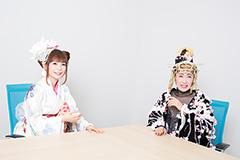 左から中川翔子、小林幸子。