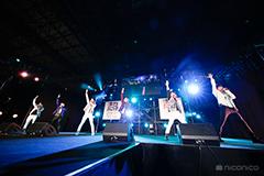 DRAMATIC STARS・S.E.M(アイドルマスター SideM)のライブの様子。