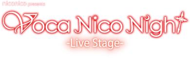 「Voca Nico Night -Live Stage-」ロゴ画像